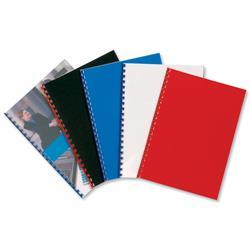 GBC PolyOpaque Binding Covers Polypropylene 300 micron Black A4 Ref IB386831 (100 Pack)