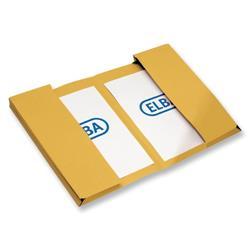Elba Twin Pocket Wallet Foolscap Yellow Ref 100092108 - Pack 25