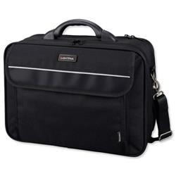 Lightpak Arco 17in Laptop Bag Black Ref 46010