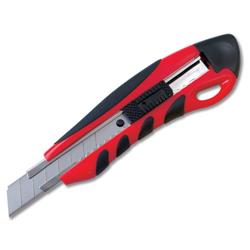 5 Star Office Cutting Knife Heavy Duty with Locking Device and Snap-off Blades