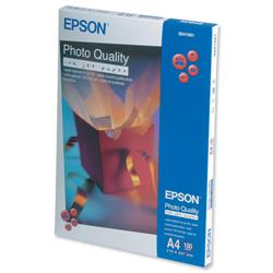Epson A4 Photo Quality Inkjet Paper Ref C13S041061 - 100 Sheets