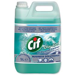 Cif Professional Oxygel All Purpose Cleaner Ocean 5 Litre Ref 7522965