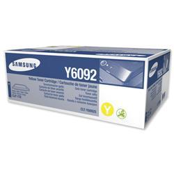 Samsung Laser Toner Cartridge Page Life 7000pp Yellow Ref CLT-Y6092S/ELS
