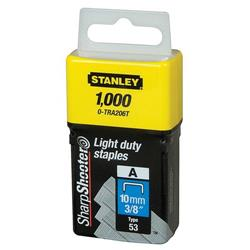 Stanley Light Duty Staples 10mm Ref 0-TRA206T (Pack 1000)