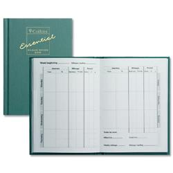 Collins Mileage Record Book 60 Pages 104x149mm Green Ref MRB1
