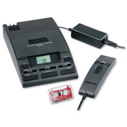 Philips LFH-725 Dictation Kit of Machine 276 Microphone 155 Power Supply and 0005 Mini Cassette Ref LFH725D
