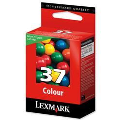 Lexmark No. 37 Inkjet Cartridge Return Program Page Life 150pp Colour Ref 18C2140E