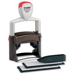 Trodat Typomatic D-I-Y Printer Kit 6 lines Ref 5253 74513