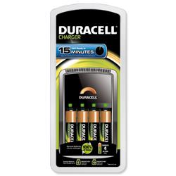 Image of Duracell Battery Charger CEF15 15Min - 81362490
