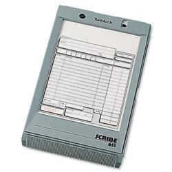 Twinlock Scribe 855 Counter Sales Receipt Business Form 2-Part 216x140mm Ref 71704 - Pack 100