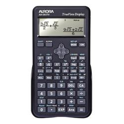 Aurora AX-595TV Calculator Scientific Black Ref AX-595TV