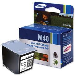 Samsung Fax Inkjet Cartridge Page Life 750pp Black Ref INK-M40/ELS