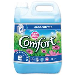 Comfort Professional Concentrated Fabric Softener 5L Ref 7508522