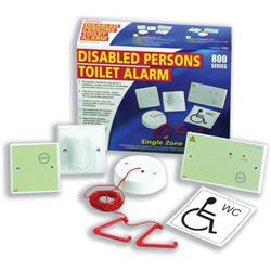 Disabled Persons Toilet Alarm Ceiling Unit with Cord