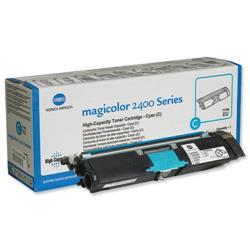 Konica Minolta MC 2400/2500 Series High Capacity Cyan Toner Cartridge Ref A00W332