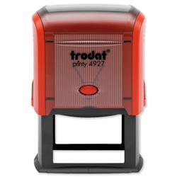 Trodat Printy TVC4927 Custom Stamp Self-Inking Up to 8 lines 59x38mm Ref 156322