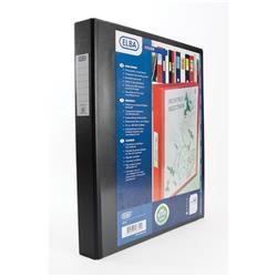 Elba Vision Ring Binder PVC Clear Front Pocket [Pack 2] - 400009729.