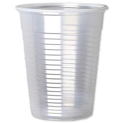 Cup for Cold Drinks Plastic Non Vending Machine 7oz 200ml Clear - Pack 100