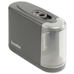 Swordfish Dual Power Pencil Sharpener Battery/Mains Ref 40098
