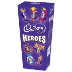 Cadbury Heroes Miniature Chocolates Selection Box 185g Ref A07945