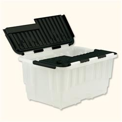 Strata Storage Box Duracrate Crate Plastic 40 Litre W570xH390xH290mm Black Ref HW390BLK - Pack 5