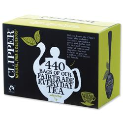 Clipper Fairtrade Tea Bags Ref 0403273 [Pack 440]