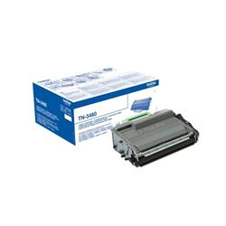Brother TN3480 Laser Toner Cartridge High Yield Page Life 8000pp Black Ref TN3480