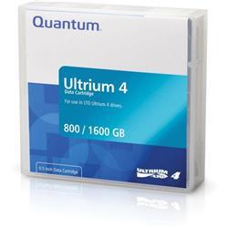 Quantum LTO4 Data Tape 800GB Native/ 1.60TB Compressed Ref MR-L4MQN-01S