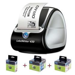 Etichettatrice Dymo LabelWriter 450 + 3 rotoli etichette GRATIS