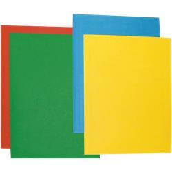 Cartelline Color Brefiocart - a 3 lembi - 33x25 cm - arancio - conf. 25