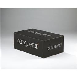 Conqueror Wove High White DL Envelope FSC4 110X220mm Sup/Seal Bnd 50 Wdw 22Up 17Lhs Ref 01530 [Pack 50]