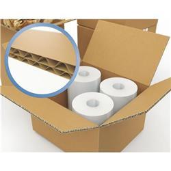 Corrugated Box Double Wall 0201 125K/BC/T 610 x 254 x 330mm (24 x 10 x 13) Ref 59799 [Pack 15]