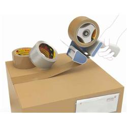 Image of 3M Scotch 371 Polypropylene Tape Buff 48mm X 990m Pack 6 - KT000032120
