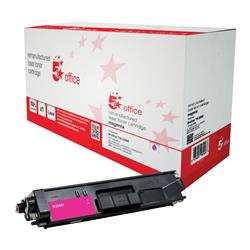 5 Star Office Remanufactured Laser Toner Cartridge Page Life 3500pp Magenta [Brother TN326M Alternative]