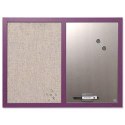 Bi-Office Lavender Purple Combination Board 60x45cm Ref MX04330418