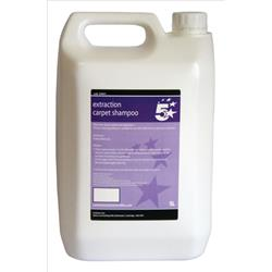 5 Star Facilities Extraction Carpet Shampoo 5 Litre