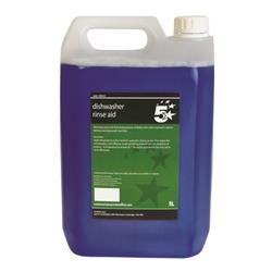 5 Star Facilities Auto Rinse Aid and Glass Cleaner 5 Litres