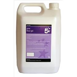 5 Star Facilities Pine Floor Gel 5 Litre