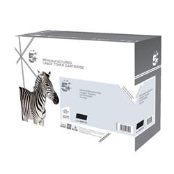 5 Star Office Compatible Laser Toner Cartridge Page Life 3500pp Black [Lexmark E260A11E Alternative]