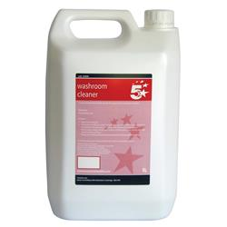5 Star Facilities Washroom Cleaner and Sanitiser 5 Litre