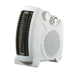 5 Star Facilities Fan Heater Adjustable Position 2 Heat Settings 2Kw