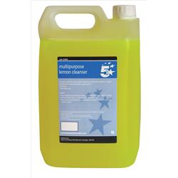 5 Star Facilities All Purpose Cleanser Lemon 5 Litre