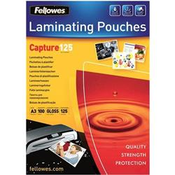 Fellowes Laminating Pouch 125 Micron A3 Ref 5307506 (Pack 100)