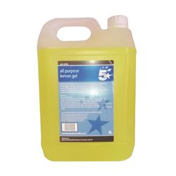 5 Star Facilities All Purpose Lemon Cleaning Gel 5 Litre