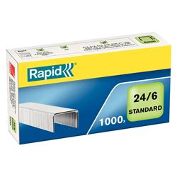 Rapid Staples 24/6mm [Pack 1000] Ref 24855600
