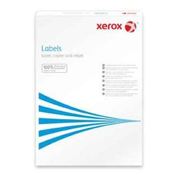 Xerox Monolaser Labels Square Corners 14up A4 105x42mm White Permanent Ref 003R97455 [Pack 100]