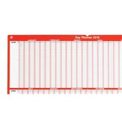 Image of 5 Star Office 2019 Day Planner Mounted Landscape with - 941220