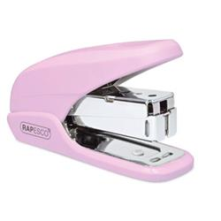 Rapesco X5 Mini Stapler Capacity 20 Sheets Pink Ref 1337