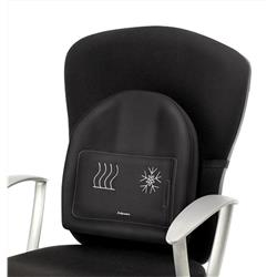 Fellowes Professional Series Heat adjustable Soothing Back Support Black Ref 9190001