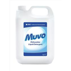 Muvo Pro Dishwasher Cleaning Liquid 5 Litres Ref M5LTRDD